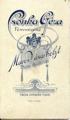 Art Nouveau reverse from 1909