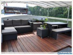 terrace houseboat
