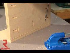 Richelieu Hardware - Kreg Pocket-Hole Jig: Build Faster And Better - YouTube