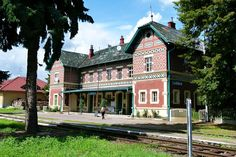 Railway station Lednice - Moravia - CZECH REPUBLIC - 2014