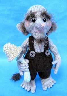 Alan Dart Knitting Pattern: Woodland Troll