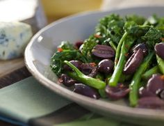 Broccoli Rabe With Kalamata Olives | Oldways