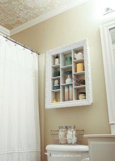 DIY bathroom makeover from @Jamielyn {iheartnaptime.net}