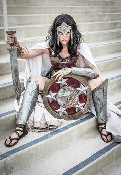 OK, if THIS were Wonder Woman? I'd line up now for the movie -she looks awesome. Meagan Marie - Warrior Wonder Woman Cosplay