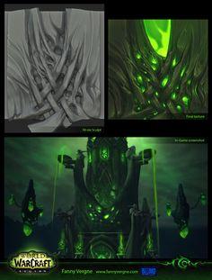 Wow Legion environment art - Faf — polycount