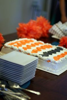 Costco decorated this cake for us. Costco Cake, Cakes, Desserts, Food, Decor, Tailgate Desserts, Deserts, Decoration, Cake Makers