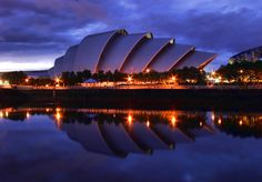 This croissant-like building isn't Sydney Opera House – it's actually the Scottish Exhibition and Conference Centre (SECC) in Glasgow