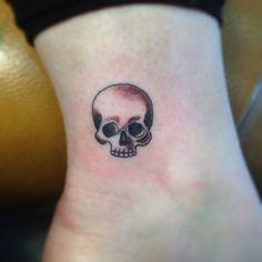 sugar skull tattoo small - Google Search