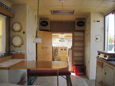 This is an awesome setup-Work Van Converted Into Classy Motorhome just $4500