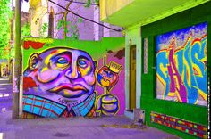 Montevideo pics, free for personal use, available on our site for professional use! GRAFFITI PURPLE ENHANCE FACE OVERLOAD