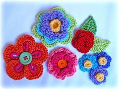 Botón floral de la fantasía crochet-wonderfuldiy3