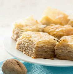 search - www. Christmas Desserts, Christmas Treats, All Things Christmas, Christmas Recipes, Greek Pastries, The Kitchen Food Network, Greek Recipes, Confectionery, Food Network Recipes