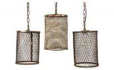 Vintage Cage Light