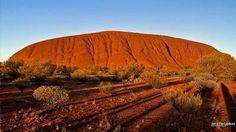 Tapeta na plochu, Austrálie - Uluru, východ slunce