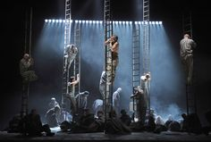 Image result for minimalist opera staging
