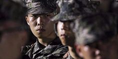 Akdong Musician's Chanhyuk is a charismatic marine in photos from training https://www.allkpop.com/article/2017/09/akdong-musicians-chanhyuk-is-a-charismatic-marine-in-photos-from-training