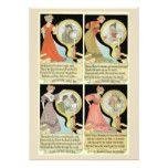Fun Vintage Tarot Card Style Collage Halloween