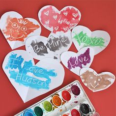 Fun and easy valentine craft.