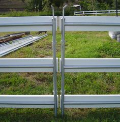 """Removable Vinyl Fence fencetech - 2015: booth # 1111 - cm steel """"the removable fence"""