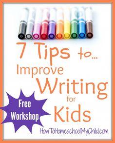 Free homeschool writing workshop