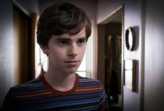 Freddie Highmore as Norman Bates in A&E's 'Bates Motel'