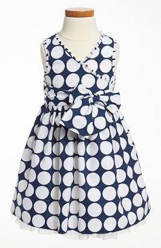 Marmelatta Polka Dot Dress (Toddler) available at #Nordstrom
