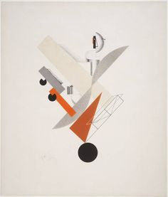 El lissitzky (1890-1941) was a Russian artist, designer, photographer, typographer, polemicist and architect who designed many exhibitions and propaganda for the Soviet Union in the early 20th century.  He was an important figure of the Russian avant garde, helping develop suprematism with his mentor, Kazimir Malevich.