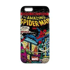 Marvel Comics Spiderman iPhone 6 inkFusion Pro Case ($8.18) ❤ liked on Polyvore featuring accessories, tech accessories and marvel comics