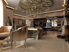 Гостиная в стиле арт - деко, идеи интерьера, фото, видео   Все о дизайне и ремонте дома