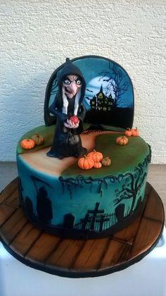 :) My Halloween cake | Más en https://lomejordelaweb.es/