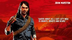View an image titled 'John Marston Art' in our Red Dead Redemption 2 art gallery featuring official character designs, concept art, and promo pictures. Wallpaper 3840x2160, Video Game Quotes, Video Games, Red Dead Redemption Game, Wild West Games, Chasseur De Primes, John Marston, Read Dead, Rdr 2