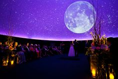 What would be more romantic than getting married under the stars? Invitations The invitation tells guests something about the theme of the wedding. It could look romantic and include starry night s… Cute Wedding Ideas, Wedding Themes, Perfect Wedding, Wedding Venues, Dream Wedding, Wedding Day, Wedding Inspiration, Wedding Stuff, Wedding Ceremony