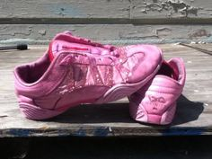 Pink Cheer Shoes!!