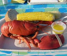 #Lobster from Waterman's Beach Lobster, in South Thomaston, #Maine