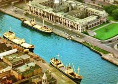 The #Guinness boats at the Custom House 1960s Guinness, Dublin, Custom Homes, Boats, 1960s, Ireland, Mansions, House Styles, Home Decor
