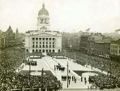 Opening of the council house, Nottingham. Council House, Historical Images, Town Hall, Nottingham, Leicester, Amazing People, Where The Heart Is, Ancestry, Vintage Photos