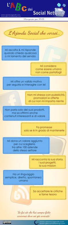Facebook & PMI: L'Azienda #Social che vorrei [VISUAL] #SMM