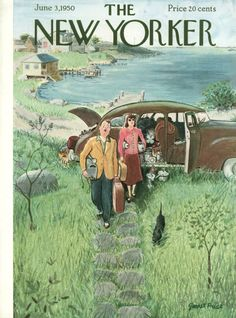 Garrett Price : Cover art for The New Yorker 1320 - 3 June 1950