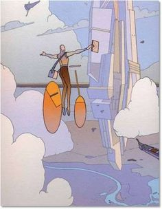 Jean Moebius Giraud  #comics #illustration #moebius