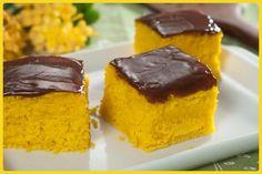 Receita Tal e Qual – Bolo de Cenoura Diet - Ingredientes:  Massa: – 3/4 xícara (chá) de óleo (180 ml) – 2 cenouras pequenas (200 g) – 3 ovos – 1 e 1/2 xícara (chá) de farinha de trigo (180 g) – 1 xícara (chá) de Tal e Qual (32 g) – 1 colher (sopa) de fermento em pó  Cobertura: – 4 tabletes de Gold Chocolate ao Leite Diet (25 g cada) – 4 colheres (sopa) de leite desnatado (60 ml)