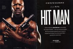 Lethal Weapon of the Pittsburgh Steelers: Linebacker, James Harrison