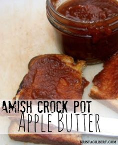 Apple butter takes me right back to Lancaster, Pennsylvania Amish country where I first sampled this thick, spice infused goodness. This is a delicious and easy recipe. # Easy Recipes for men Amish Crock Pot Apple Butter - Krista Gilbert Pennsylvania Dutch Recipes, Lancaster Pennsylvania, Butter Crock, Crockpot Apple Butter, Amish Apple Butter Recipe, Applebutter In Crockpot, Apple Butter Canning, Amish Butter, Canning Apples