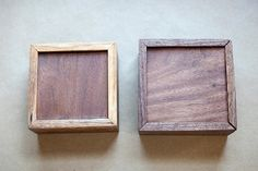 Walnut Collectors Boxes Olde Timber Workshop Reclaimed