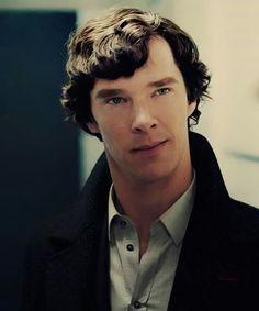 Sherlock .. Beautiful Half-Smirk <3 ..