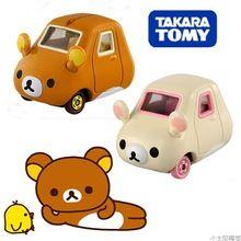 1 piece Tsum Tsum mini car toys Anime Minnie Mickey mouse Winnie Dumbo cute cartoon car model for gifts free shipping(China (Mainland))