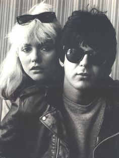 Debbie Harry + Clem Burke http://www.intlmusicsnobs.com/post/8400383123/clem-burke-officially-dr-of-rock