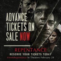 Pre-order your tix today to see Forest Whitaker, Anthony Mackie, Mike Epps, Sanaa Lathan and Nicole Ari Parker in the thriller REPENTANCE #SeekRepentance In Theaters Feb 28!