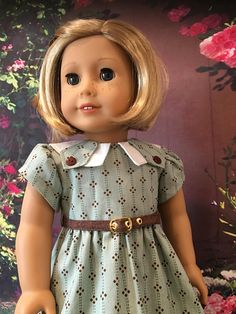 50's Summer Frock fits American Girl Dolls