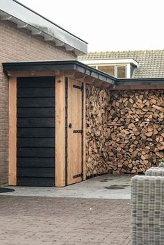 Les meilleures idées pour séchage et rangement de bois de chauffage, c'est par ici !