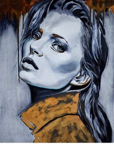Rust & oil Rust, Faces, Painting, Oil, Painting Art, Face, Paintings, Painted Canvas, Butter